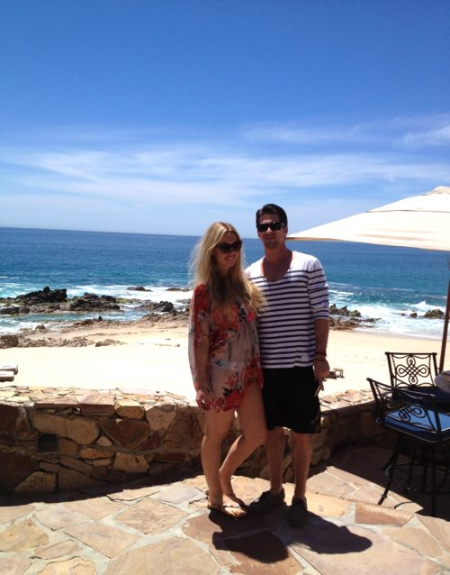Lauryn Evarts and Michael Bosstick at One&Only Palmilla Resort, San Jose del Cabo.