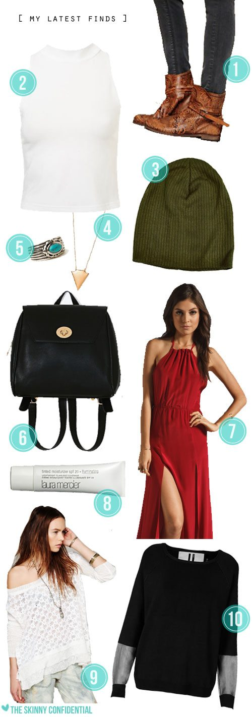 Lauryn Evarts, fashion blogger and lifestyle blogger shows all her latest favorite shopping finds!