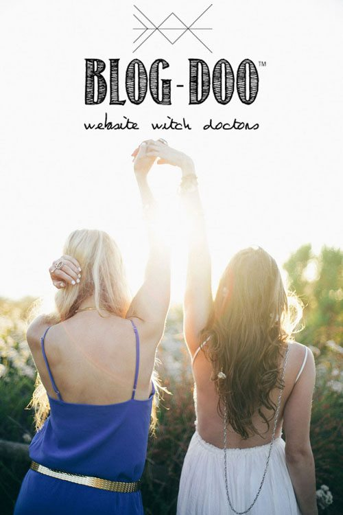 Lauryn Evarts and Erica Stolman launch the blog consulting company, Blog-Doo.