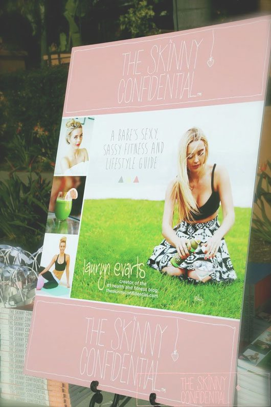 The Skinny Confidential book launch at Rancho Valencia.