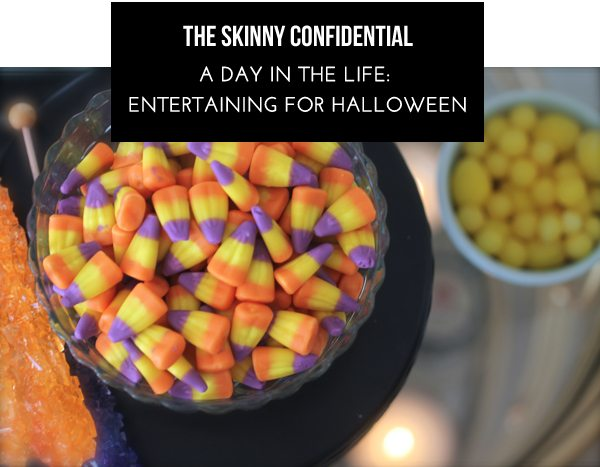 The Skinny Confidential x Halloween.