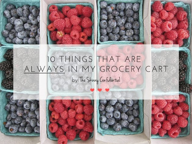 grocery list   by the skinny confidential
