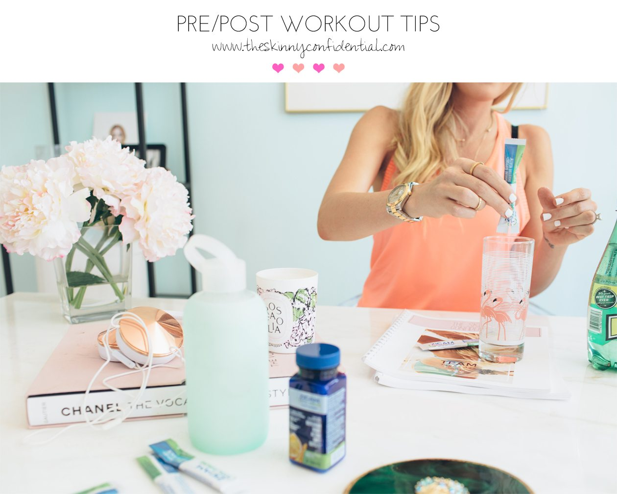 pre and post workout tips | by the skinny confidential