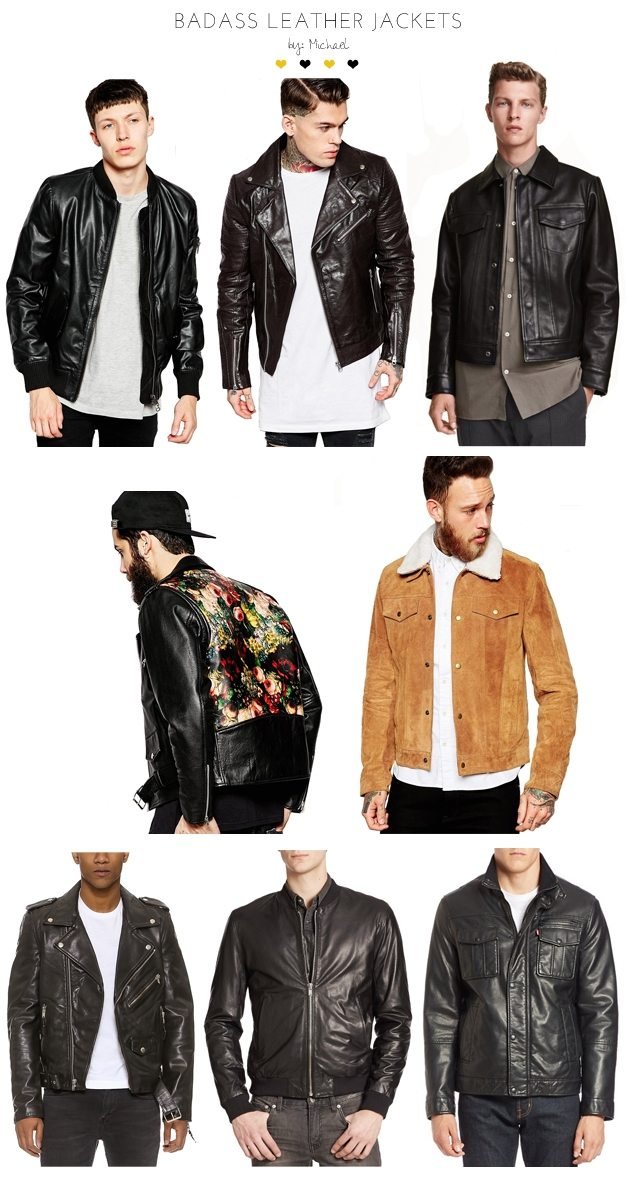 badass leather jackets by michael 4 | by the skinny confidential
