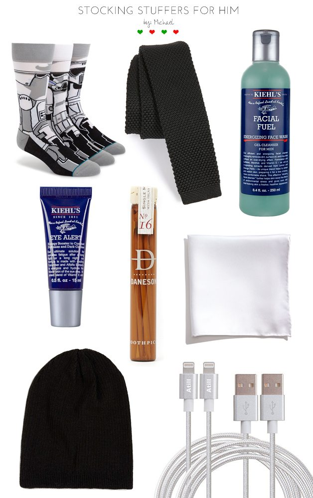 stocking stuffers   by Michael on the skinny confidential