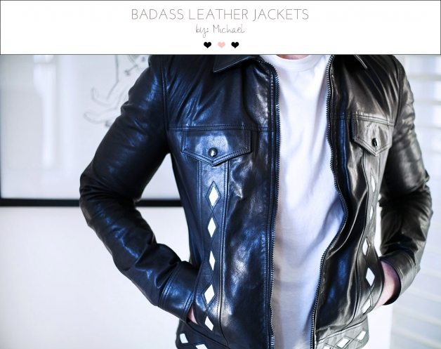 badass leather jackets by michael 1 | by the skinny confidential