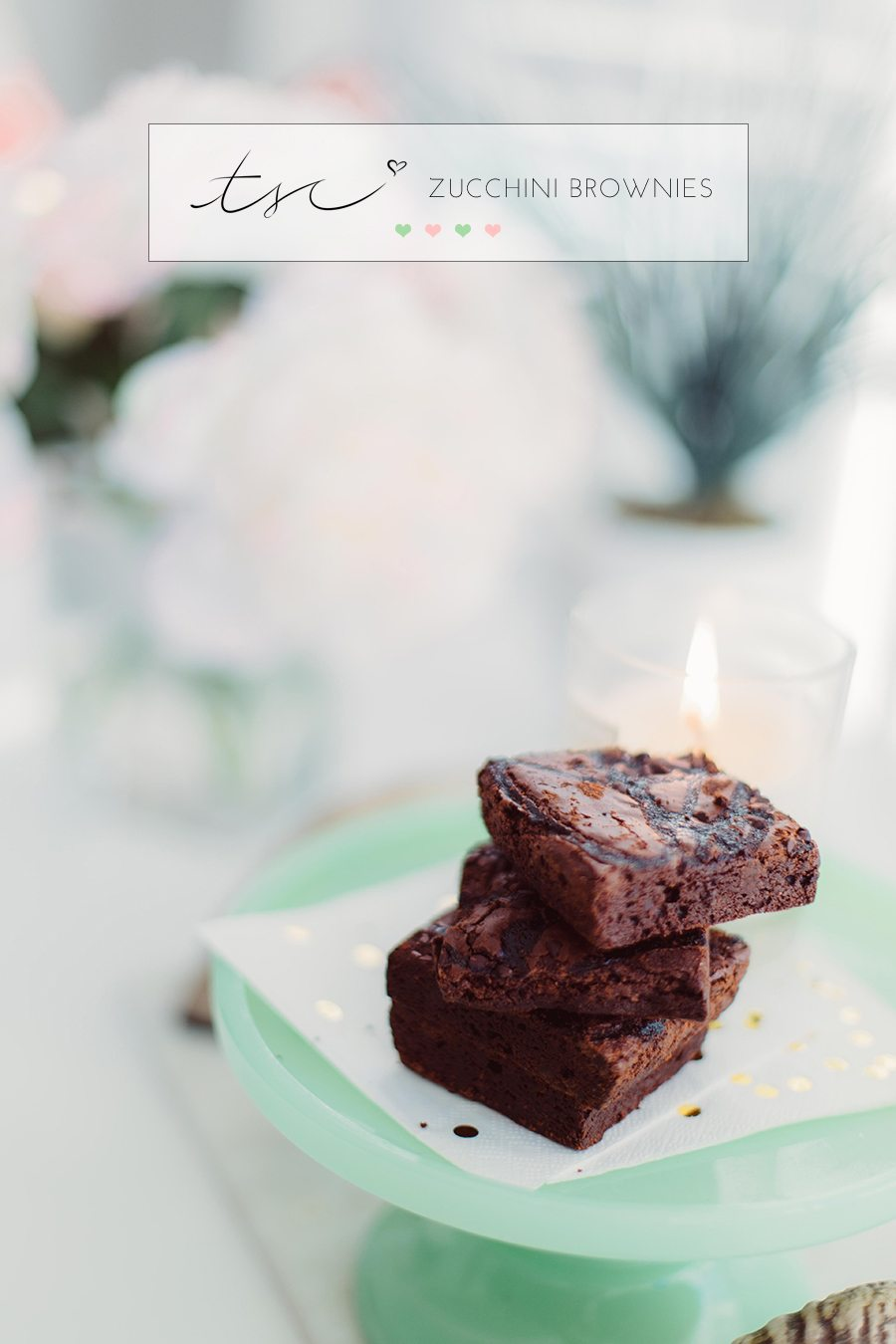 zucchini brownies | by the skinny confidential