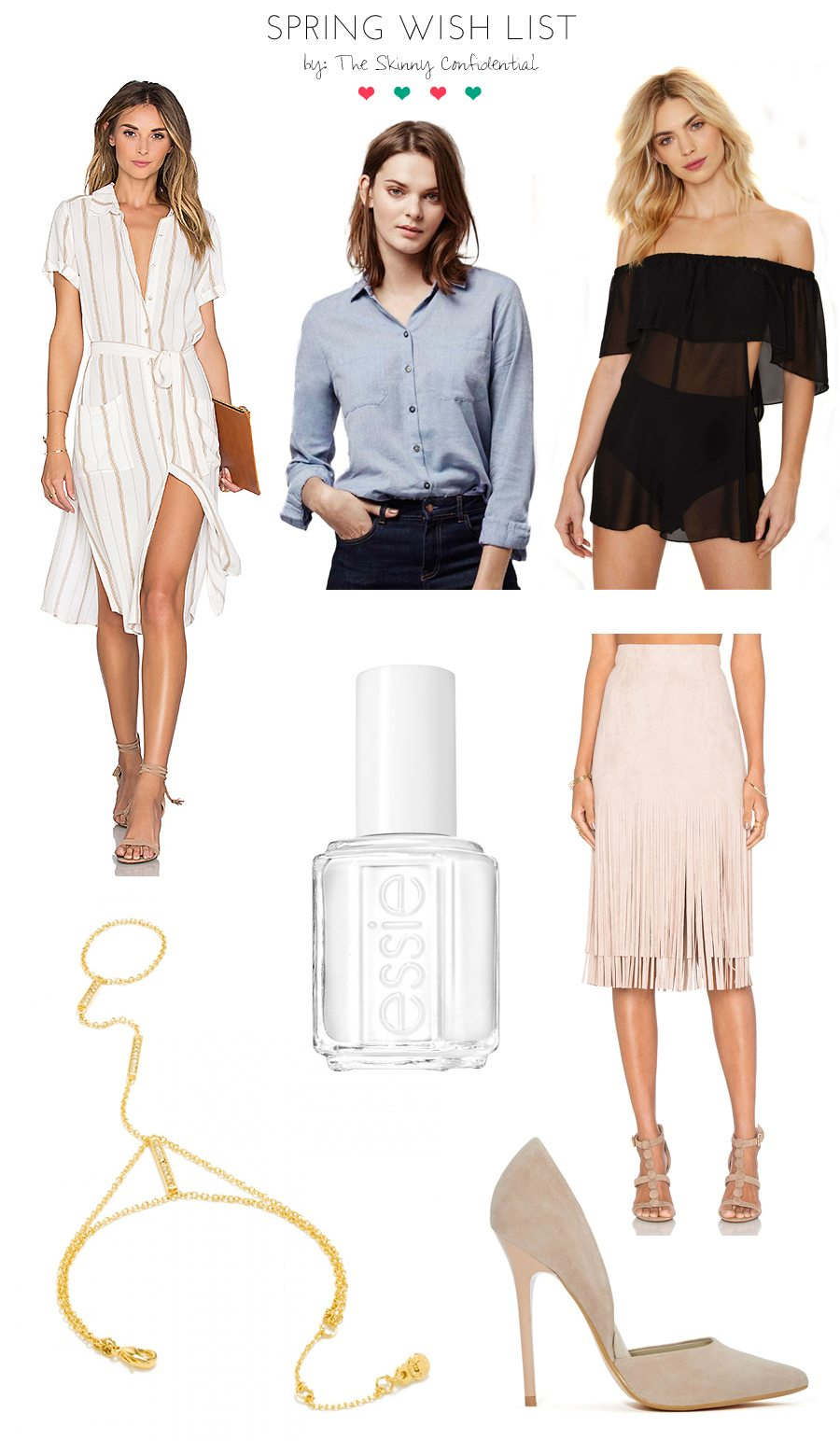 spring wish list | by the skinny confidential