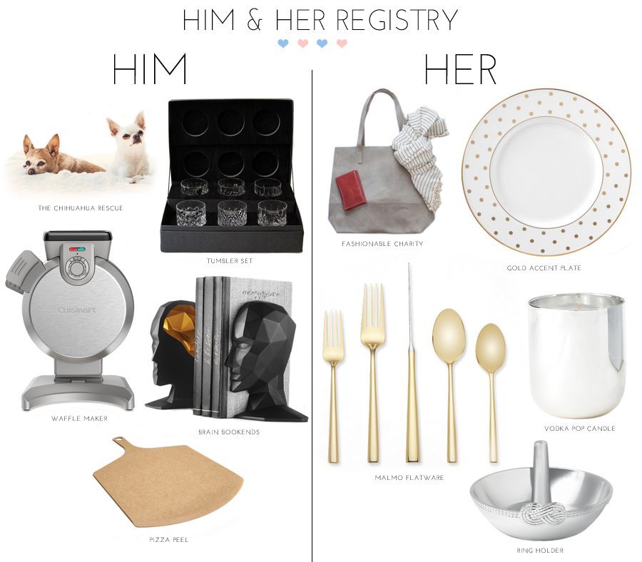 zola wedding registry 1 | by the skinny confidential