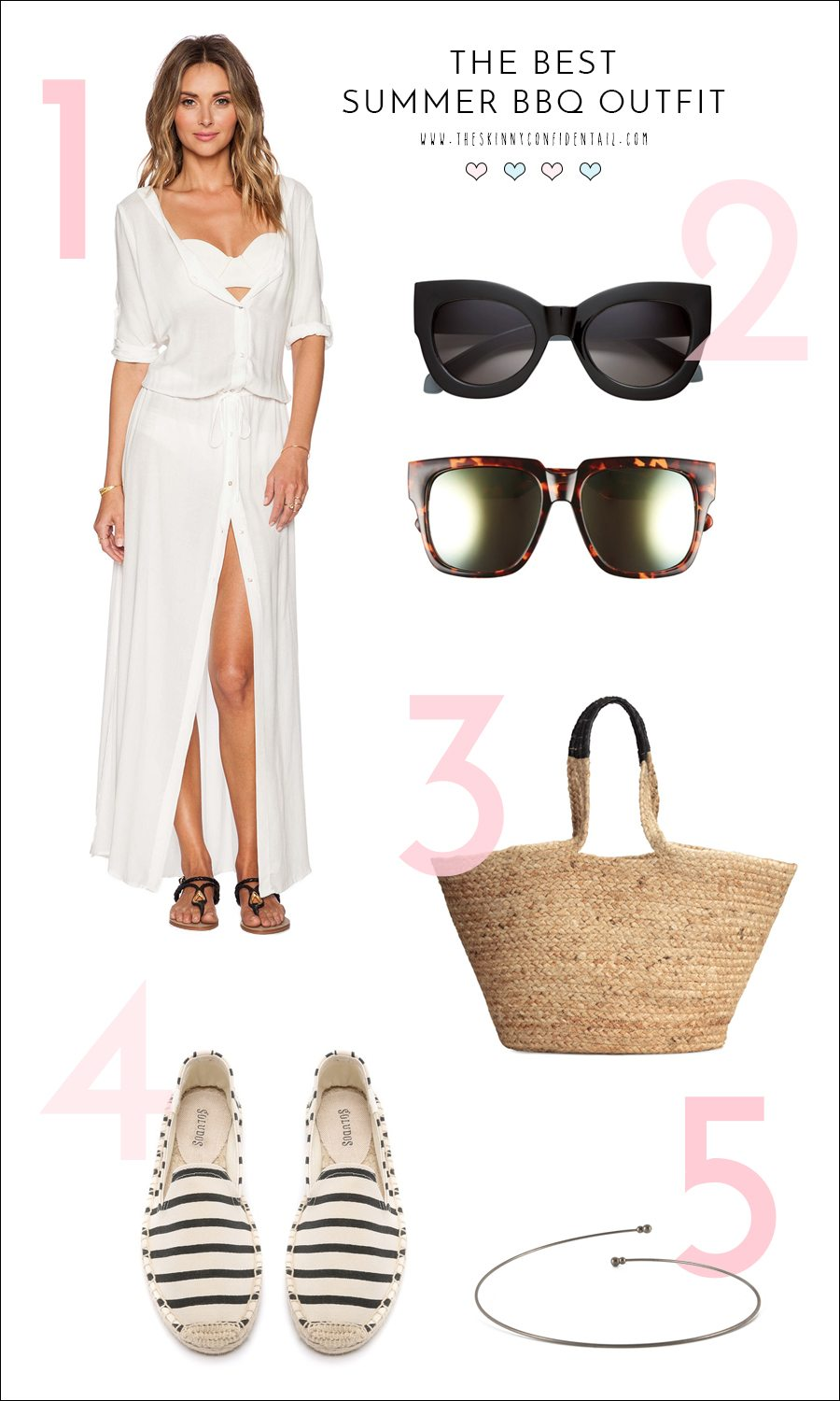 best summer bbq outfit | by the skinny confidential