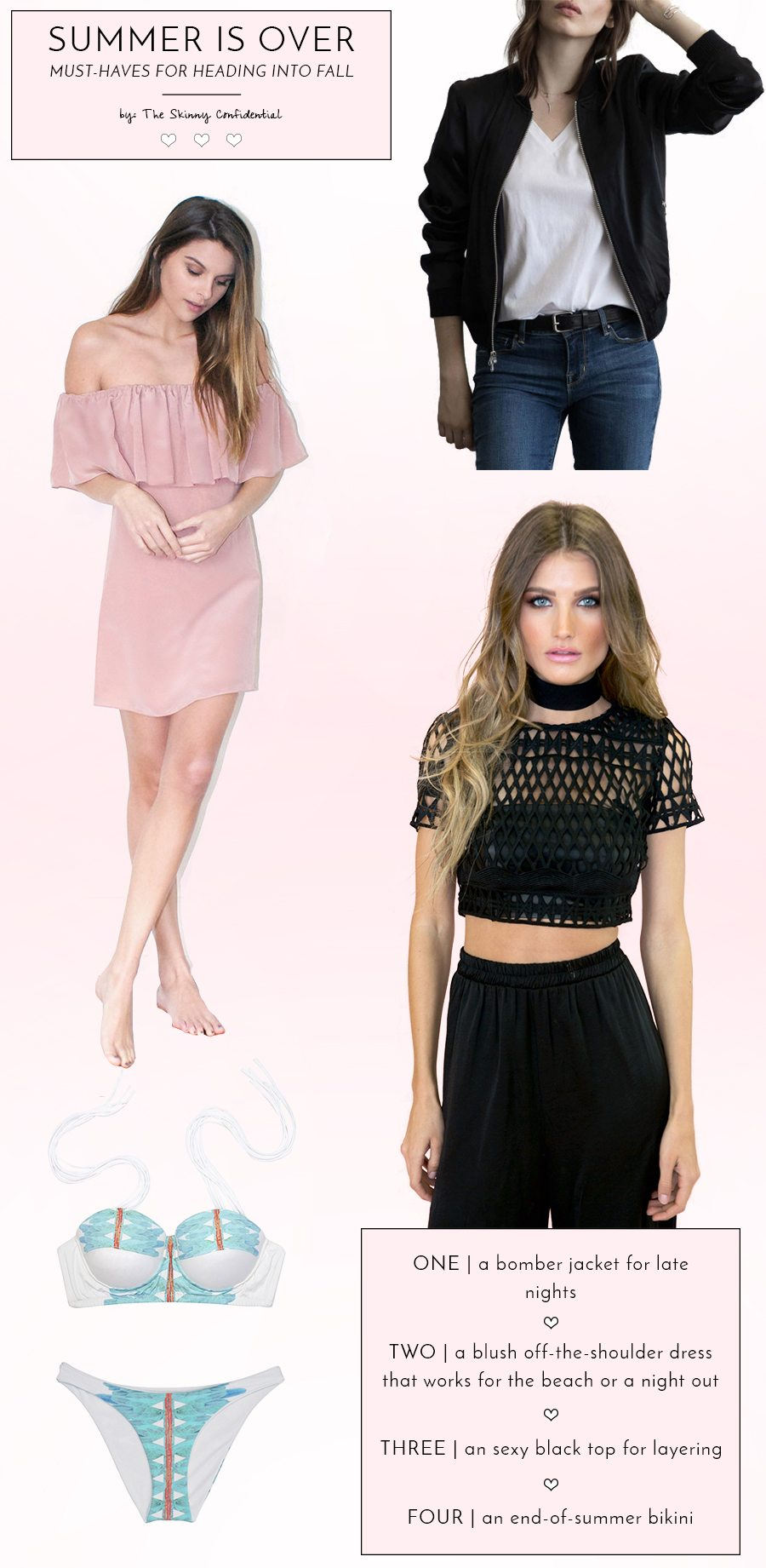 summer is over must haves   by the skinny confidential