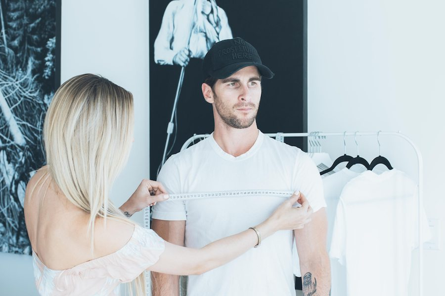 custom white tee shirt | by the skinny confidential
