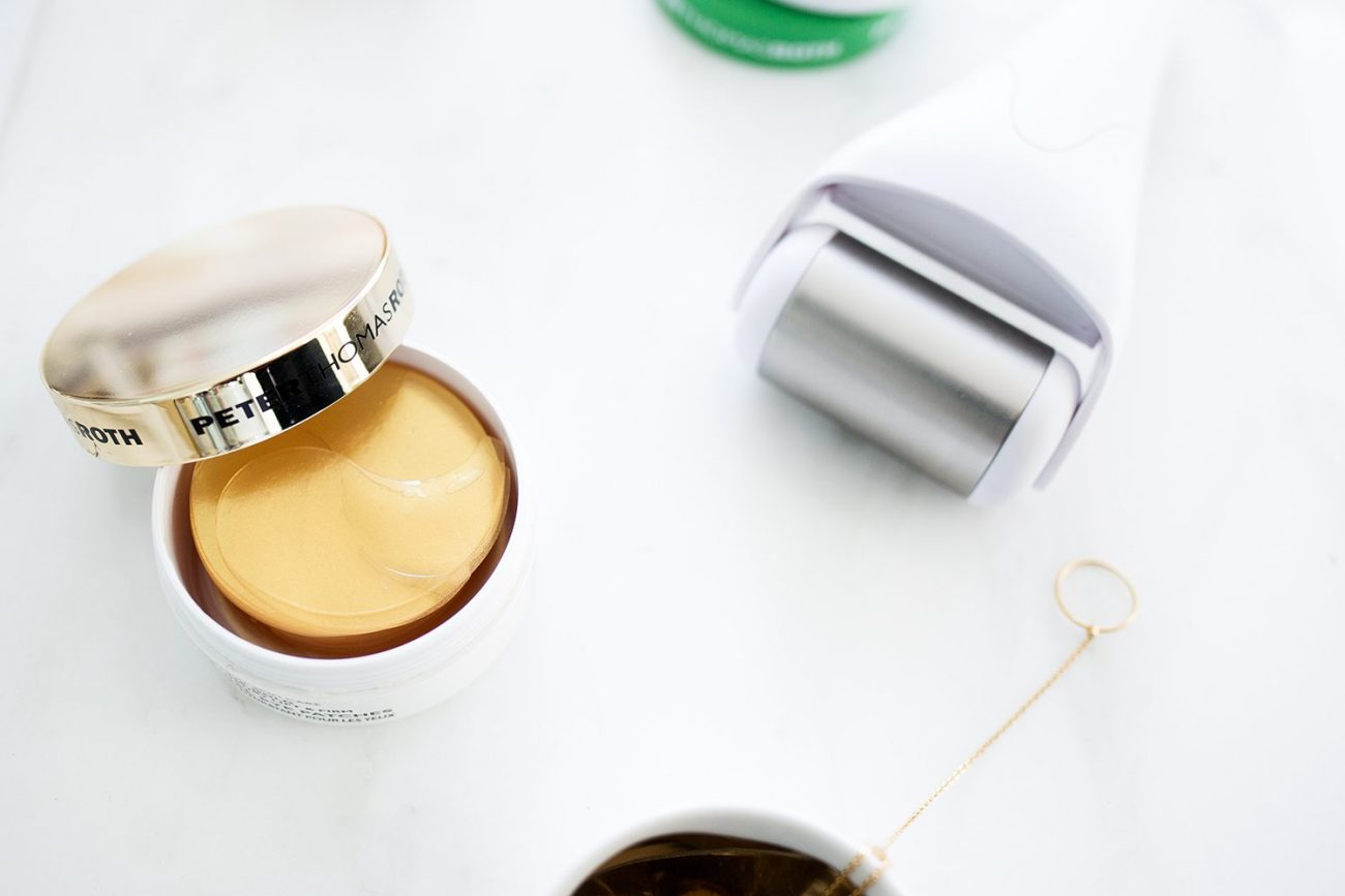 eye pad beauty tips | by the skinny confidential
