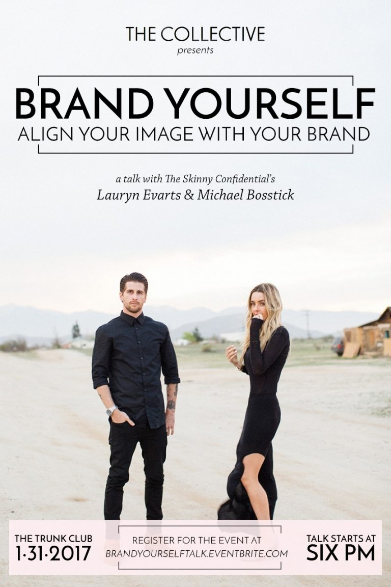 brand yourself talk the collective | by the skinny confidential