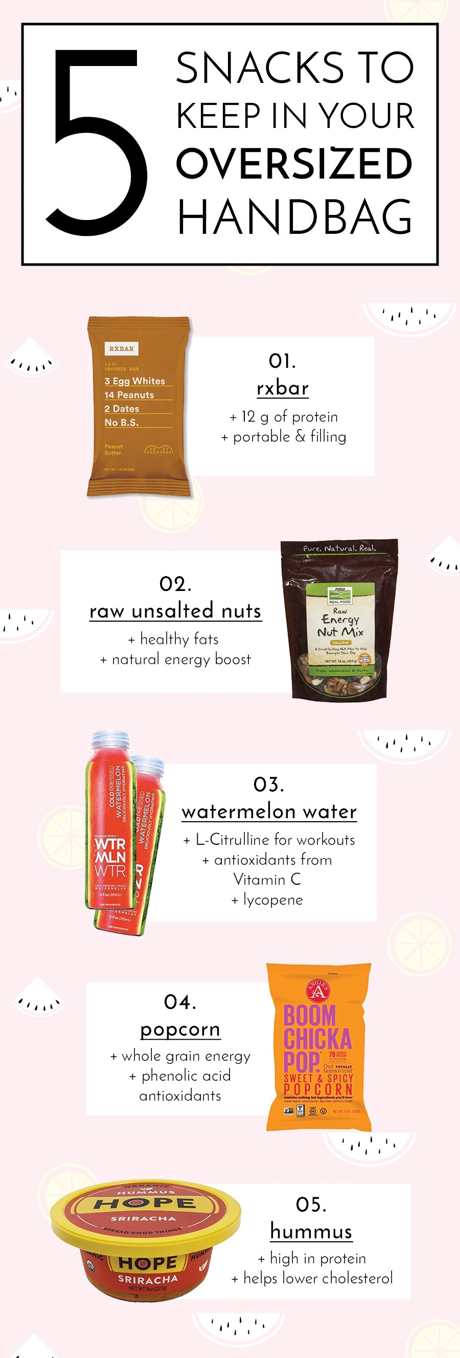 healthy on the go snacks | by the skinny confidential