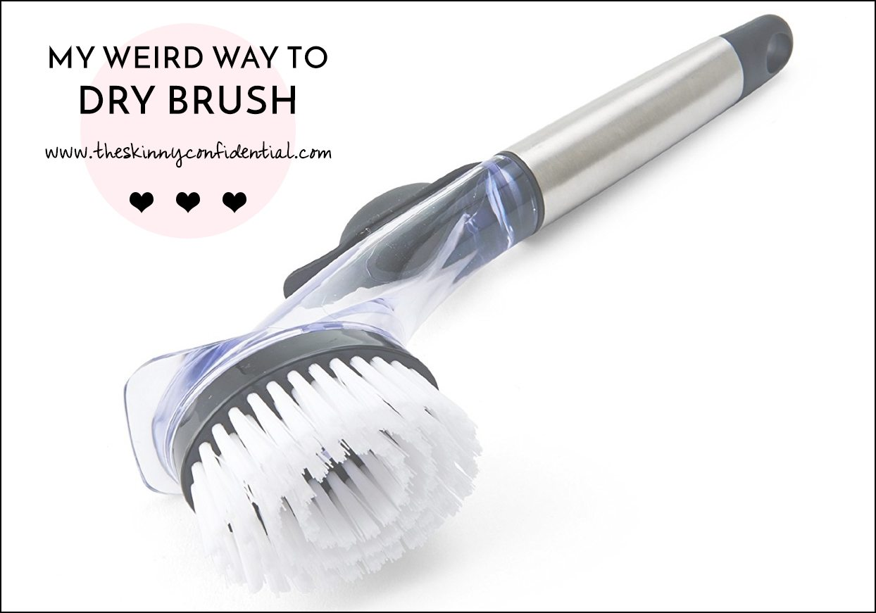 dry brush | by the skinny confidential