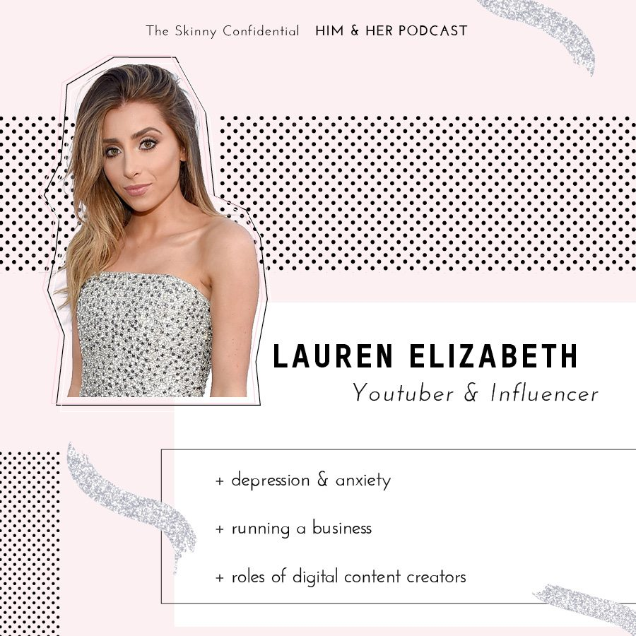 mental health depression anxiety youtube influencer lauren elizabeth by the skinny confidential