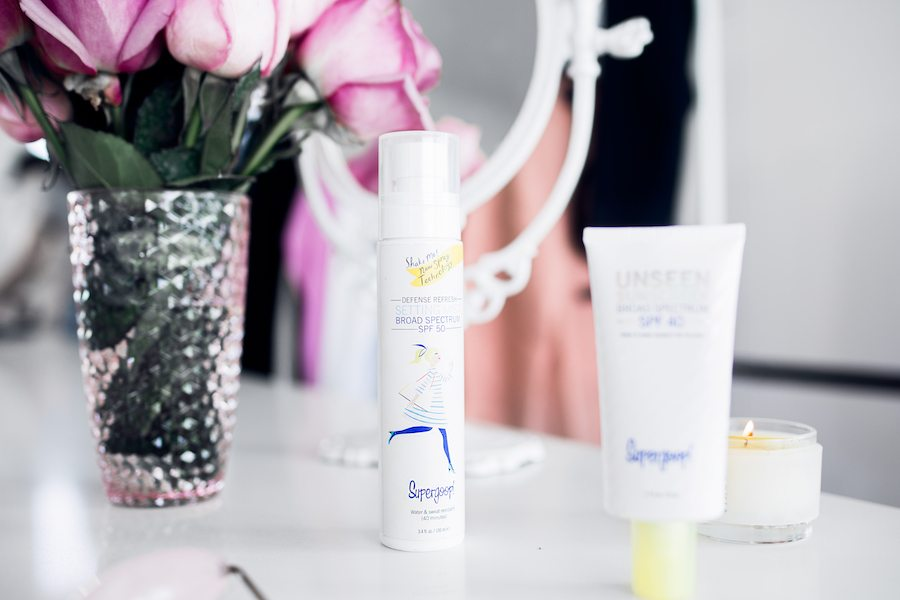 supergoop spf sunscreen importance by the skinny confidential