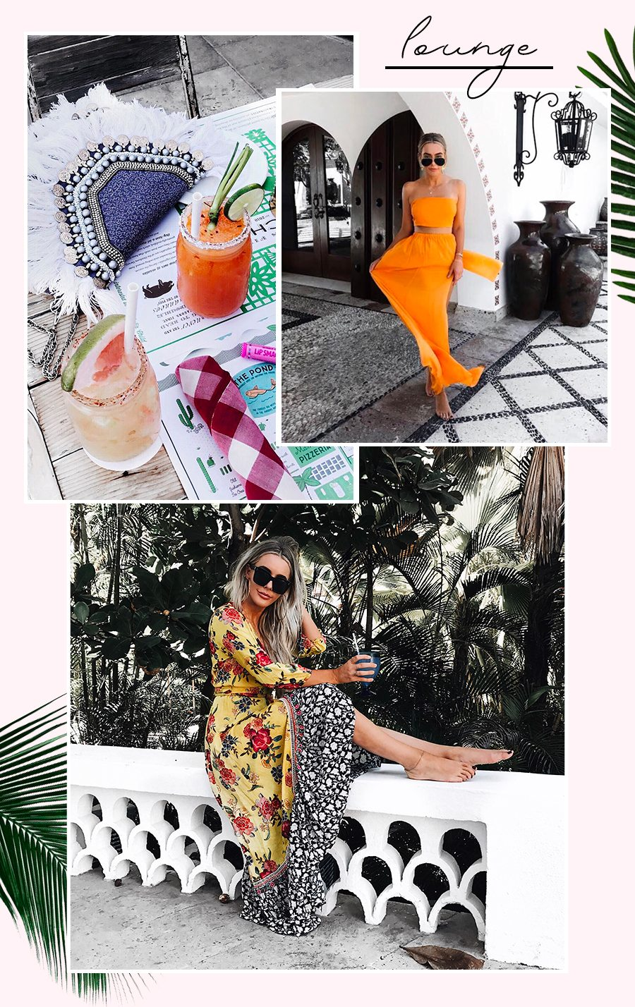 cabo vacation bikini spring break outfits by the skinny confidential