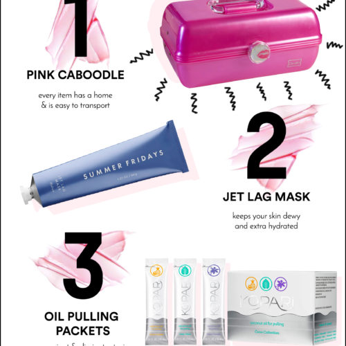 5 Beauty/Wellness Items You Need In Your Caboodle