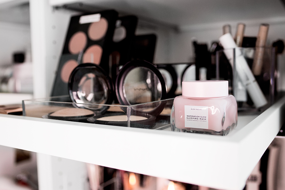 skincare beauty makeup organization by the skinny confidential