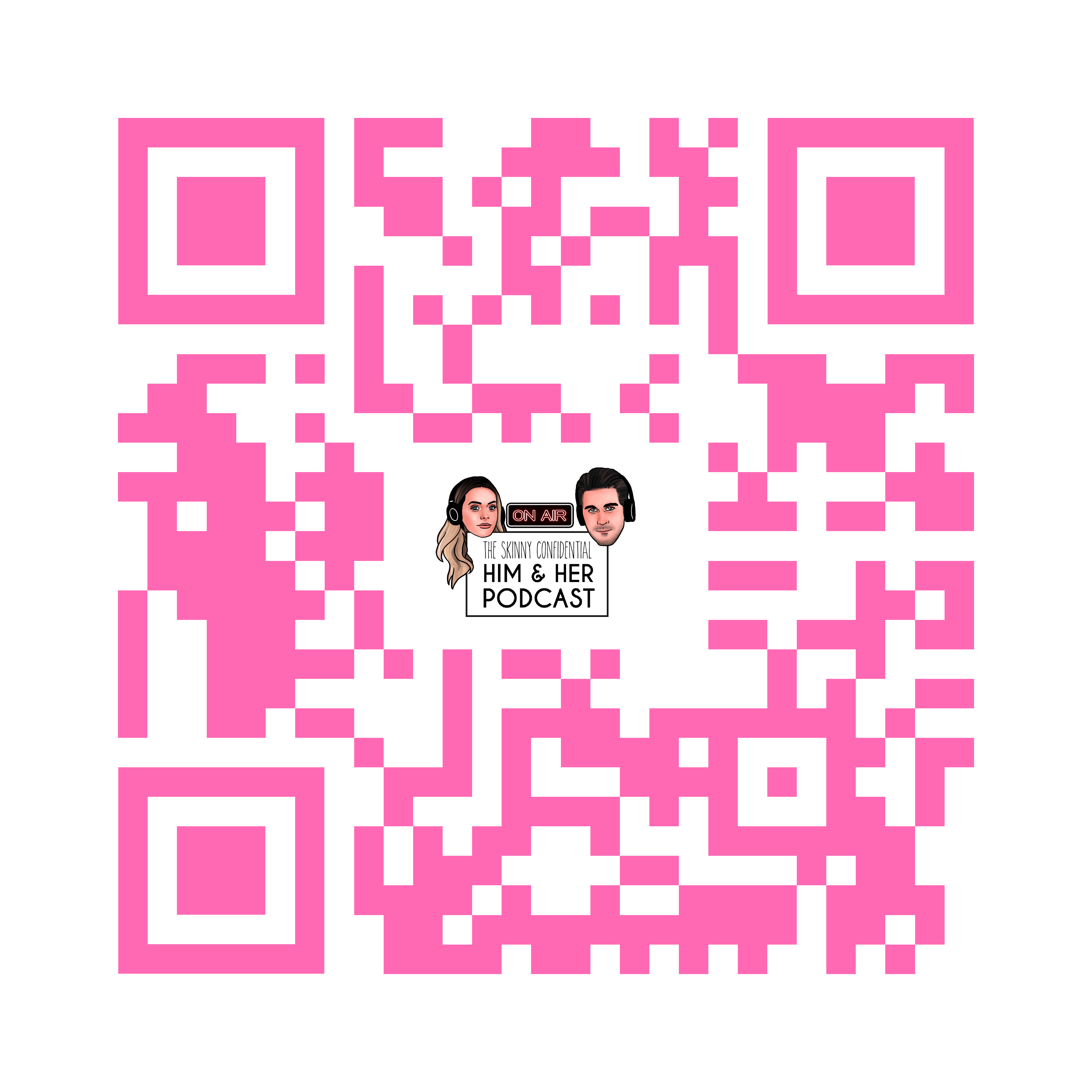 the grove la podcast dear media entertainment by tsc him her show qr code