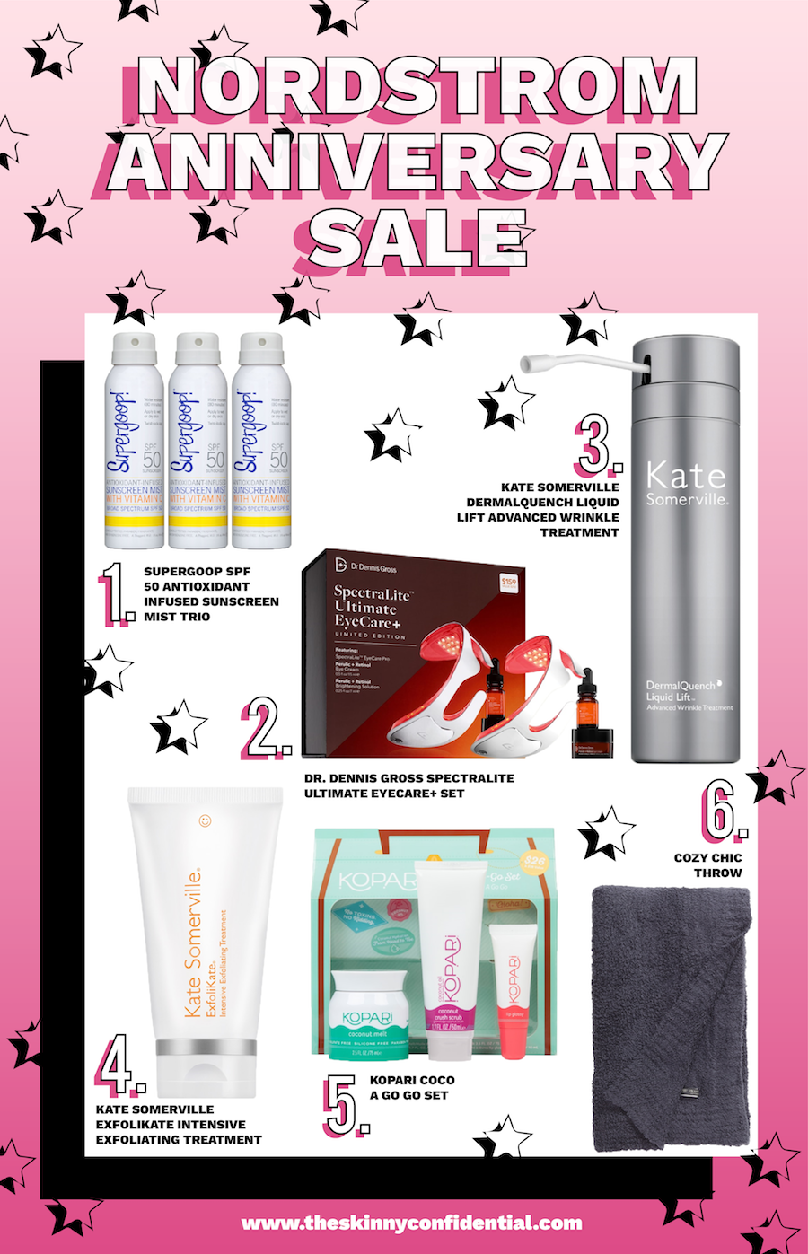 skincare sale picks from the skinny confidential dr dennis gross kate somerville