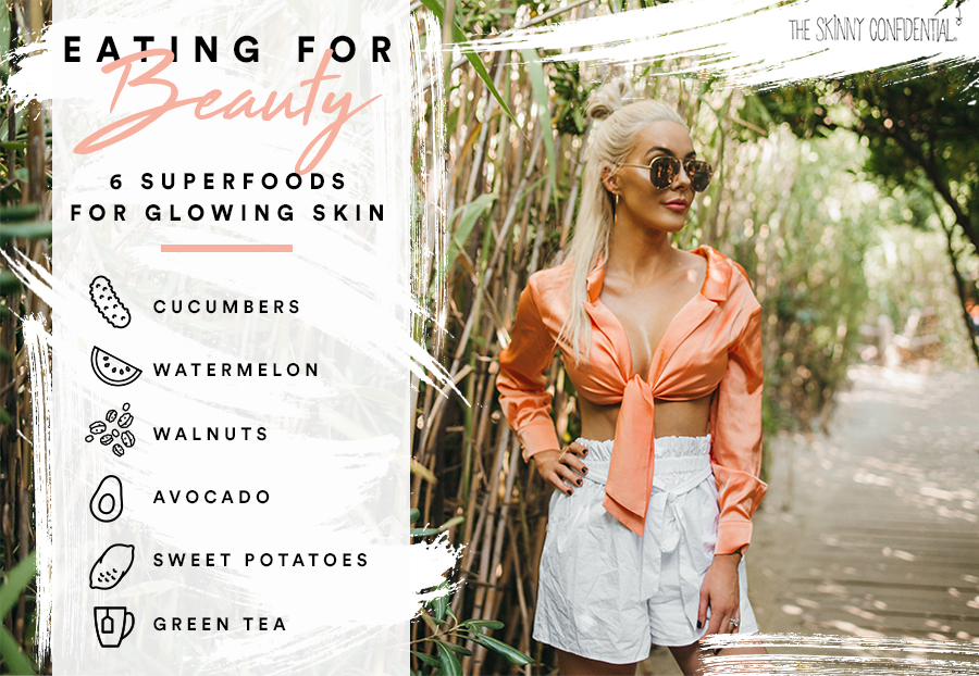 beauty glowing skin superfoods by tsc