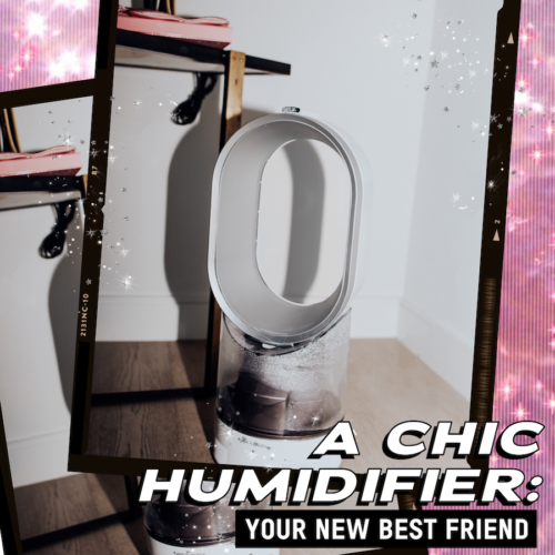 A Chic Humidifier: Your New Bestie
