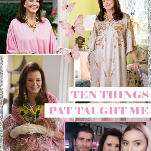 10 Things I've Learned From Southern Charm's Patricia Altschul